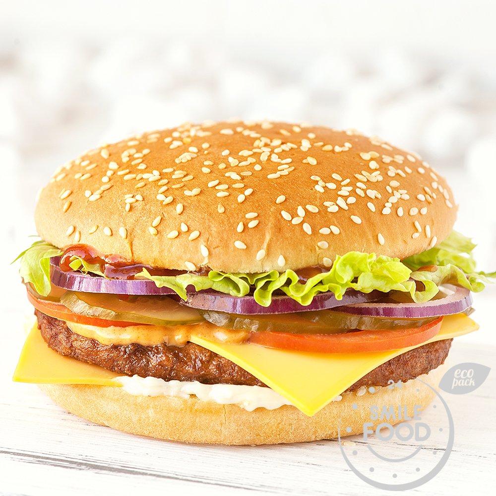 Чизбургер свино-говяжий