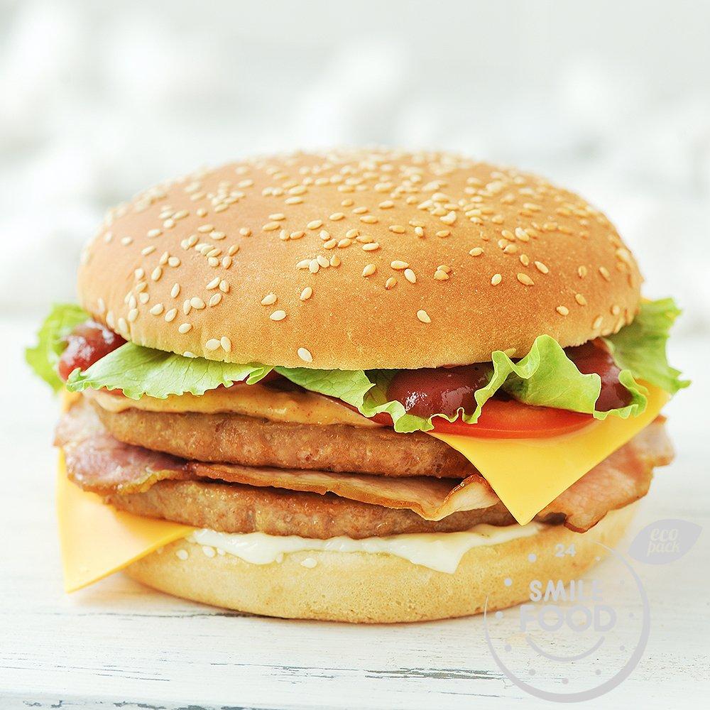 Дабл чизбургер куриный