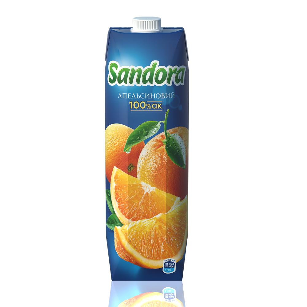 Сок Sandora Апельсин