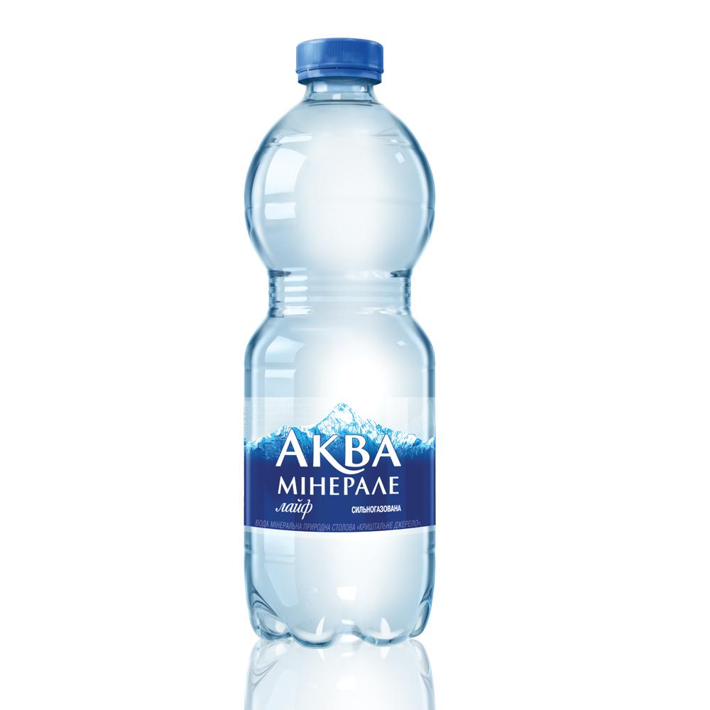 Aqua Minerale Life, газ