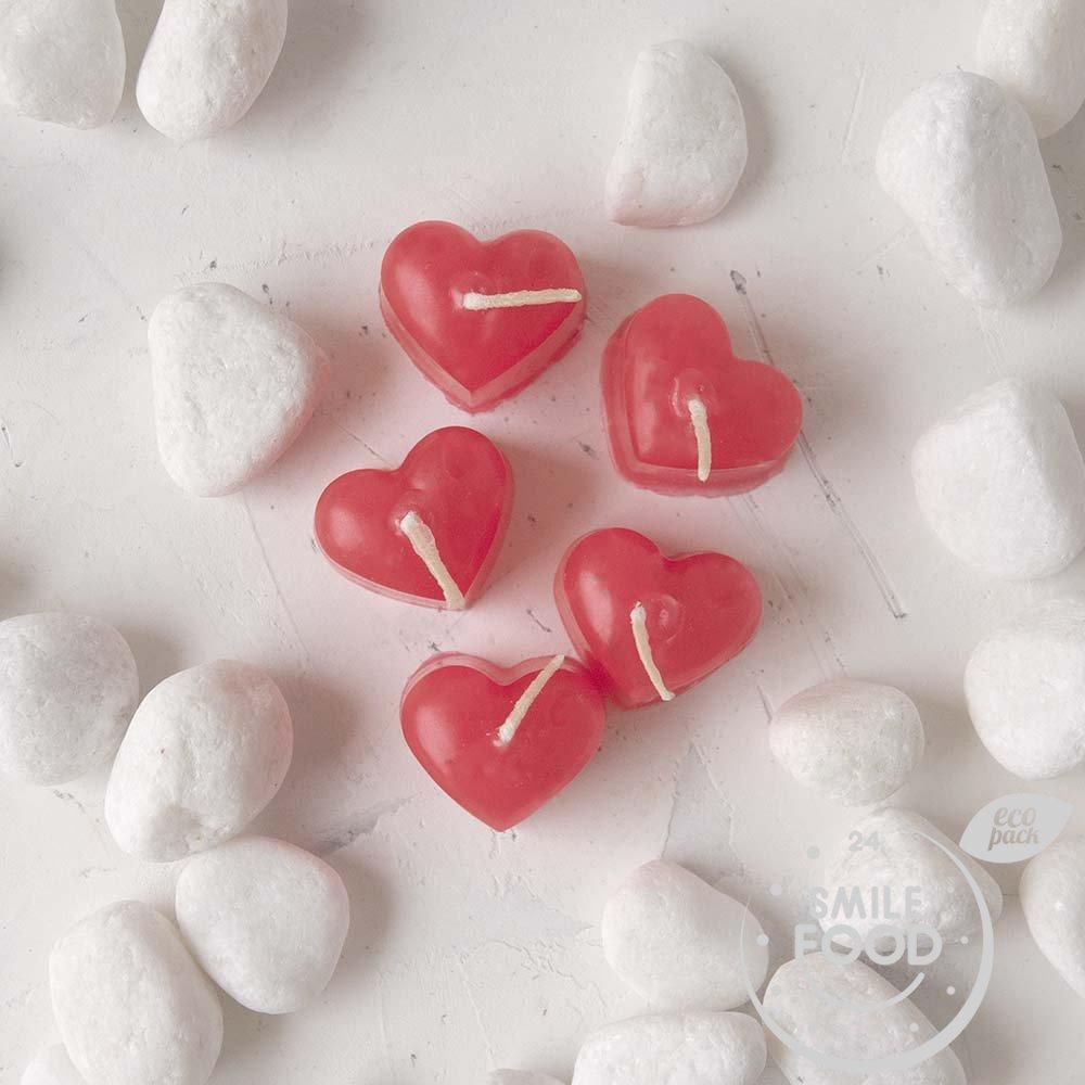 Набор свечей «Сердце»