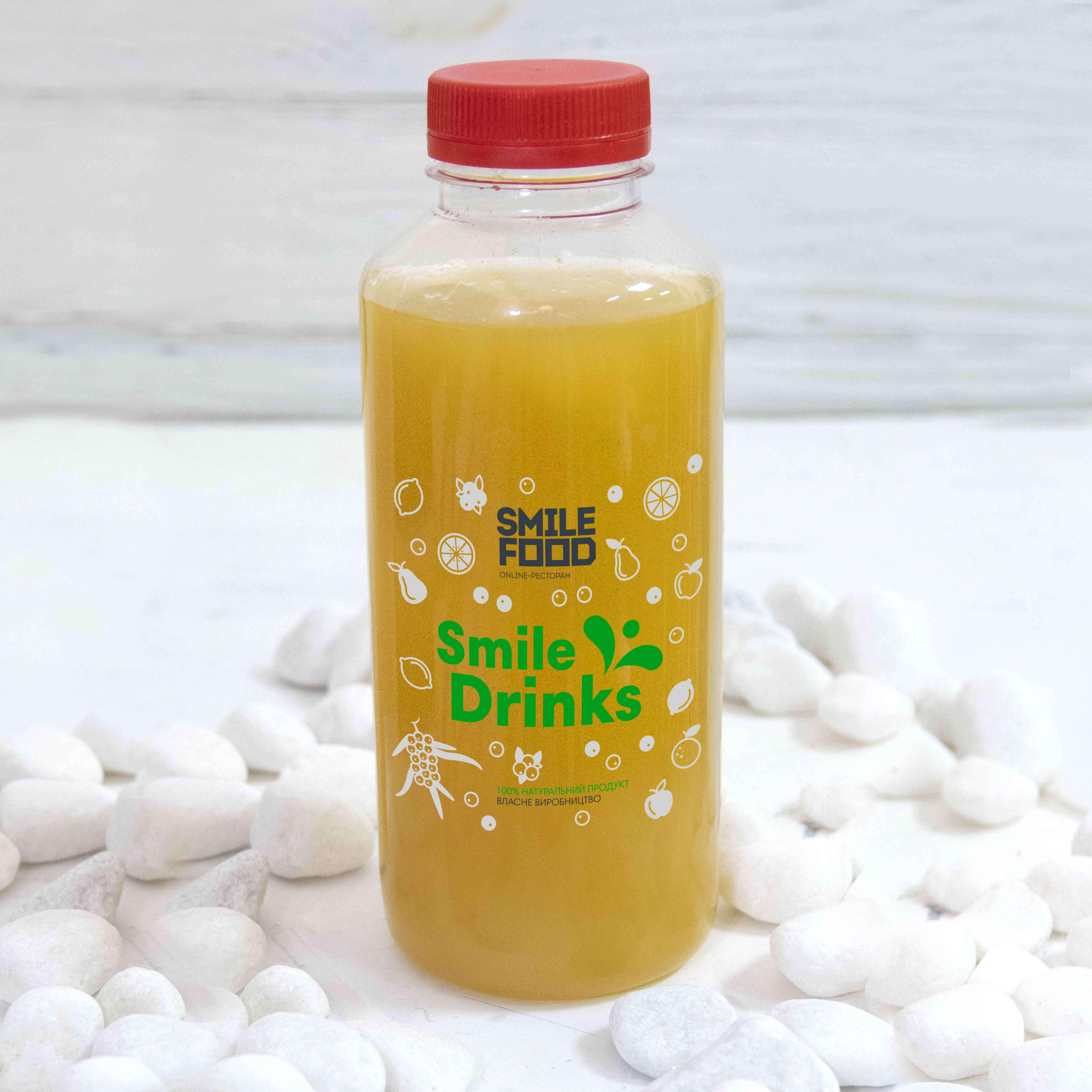 Имбирно-облепиховый напиток
